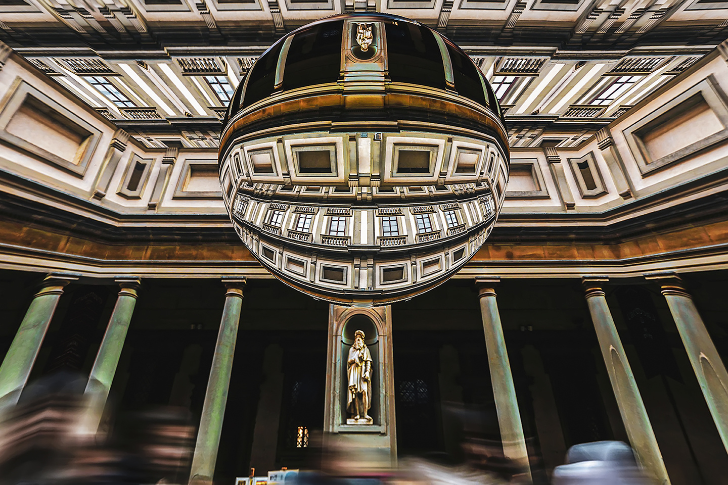 Uffizi Gallery Florence by Hanaa Turkistani