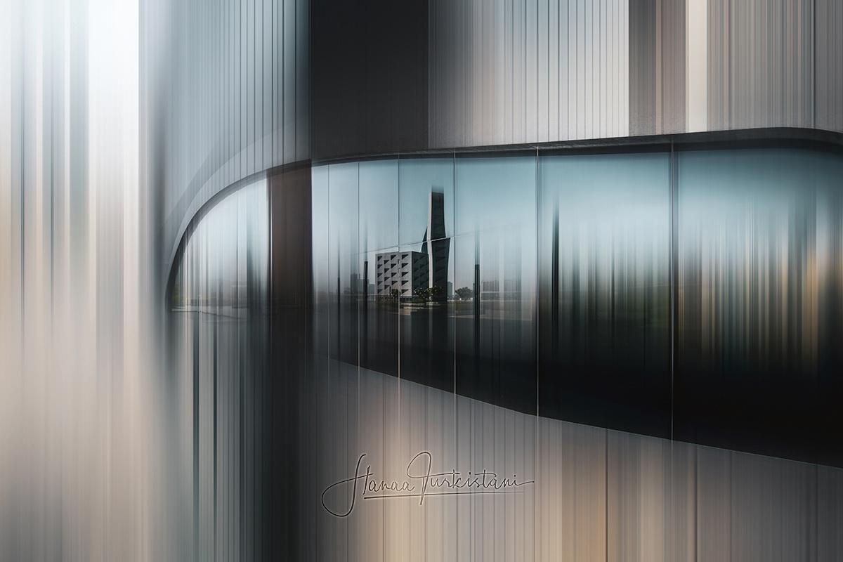 A reflection of city by Hanaa Turkistani