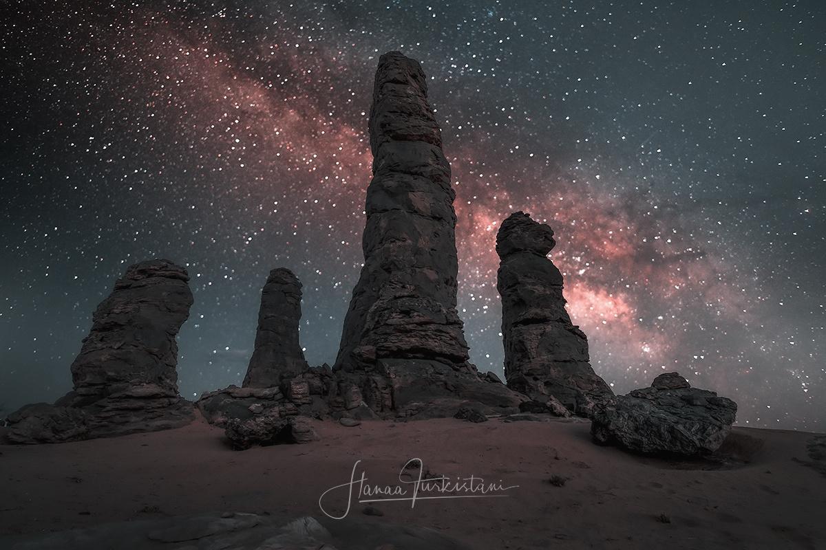Milky Way by Hanaa Turkistani