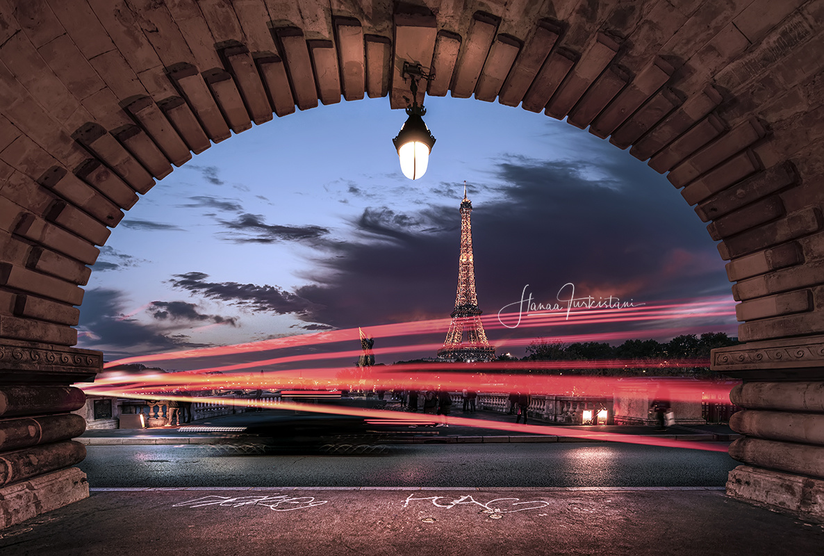 Vibes - Paris by Hanaa Turkistani