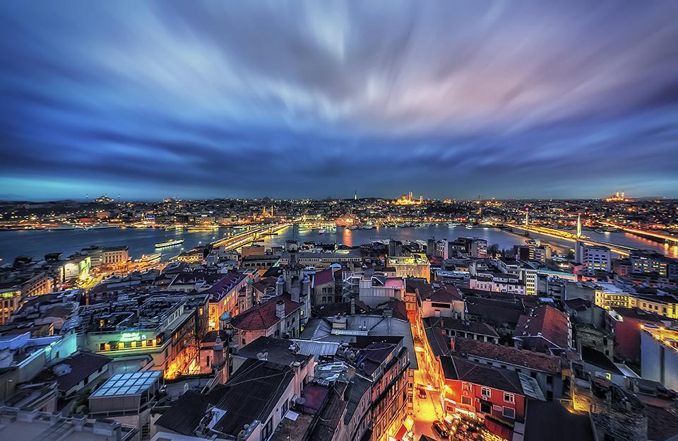 blue hour by Hanaa Turkistani
