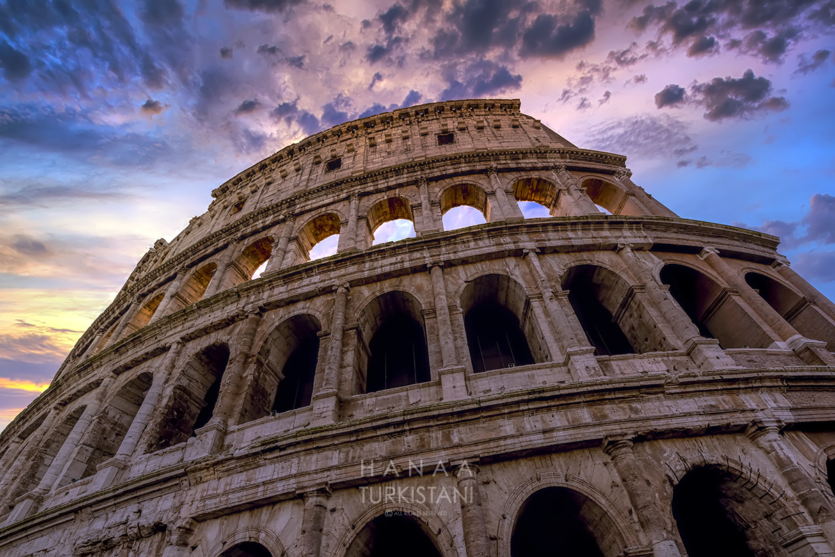Coliseum Rome by Hanaa Turkistani