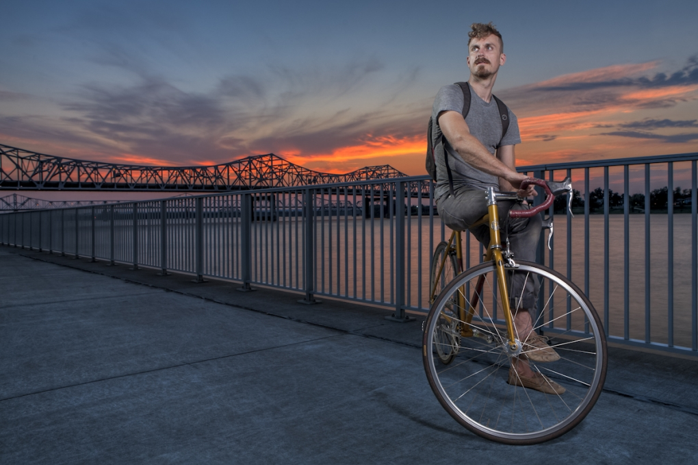 Cyclist  by Dan Lubbers