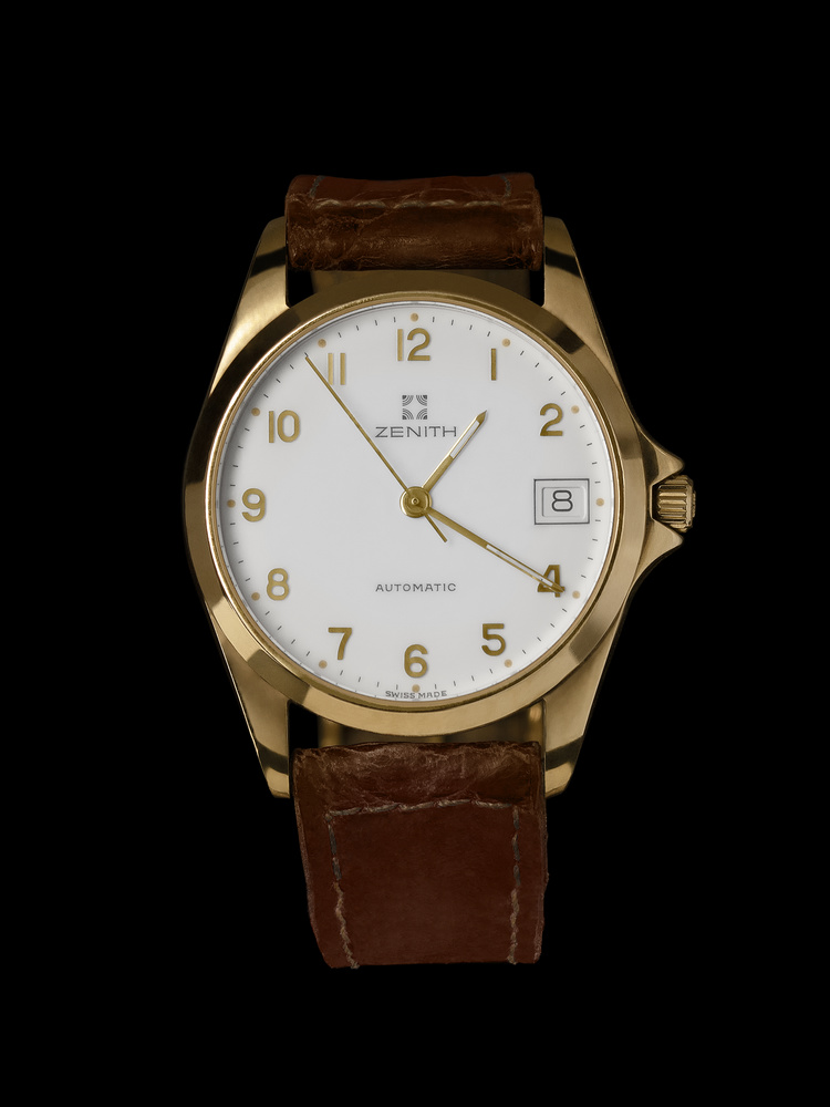 Zenith Gold Watch by Stefano Barcella