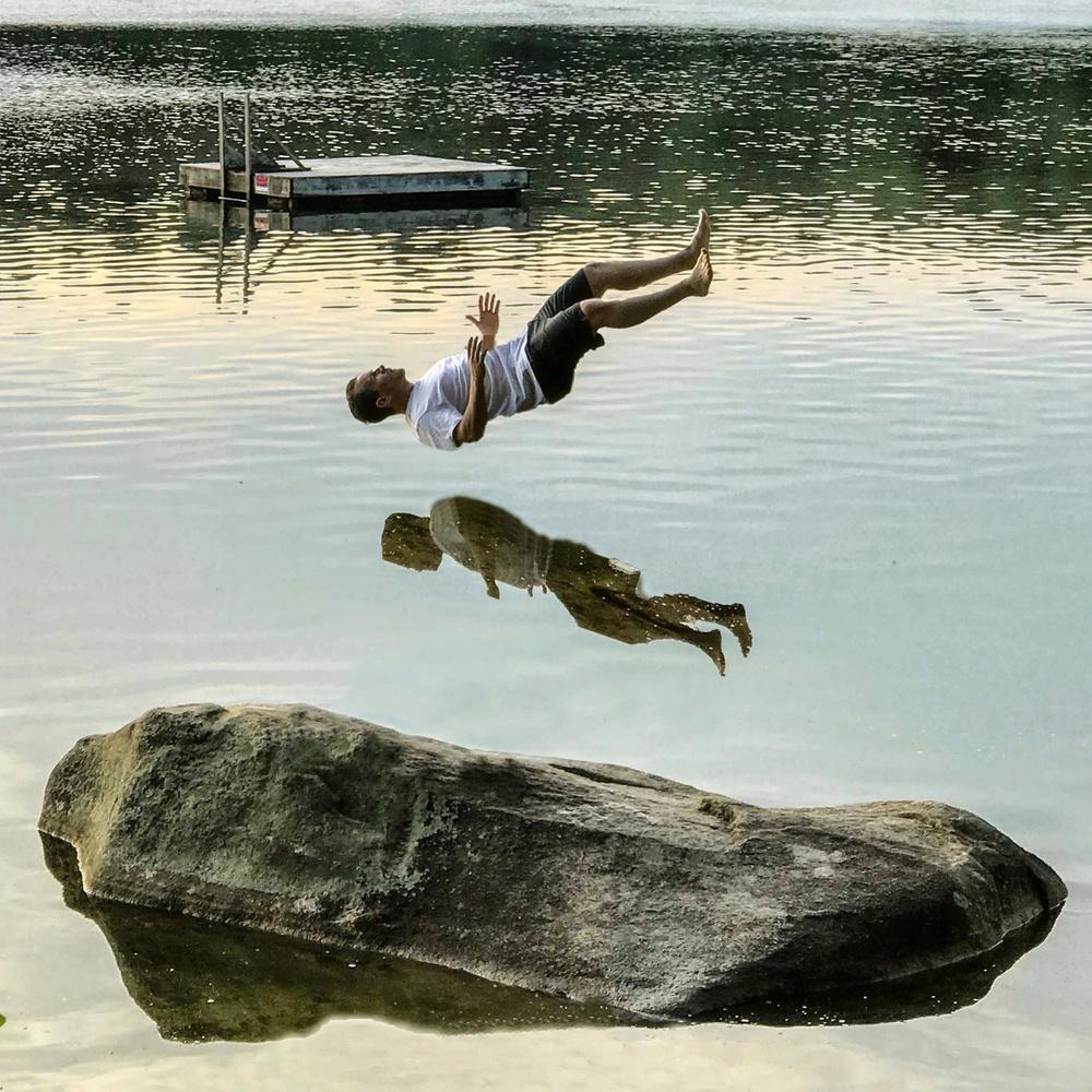 Pond Water by Zach Holmes