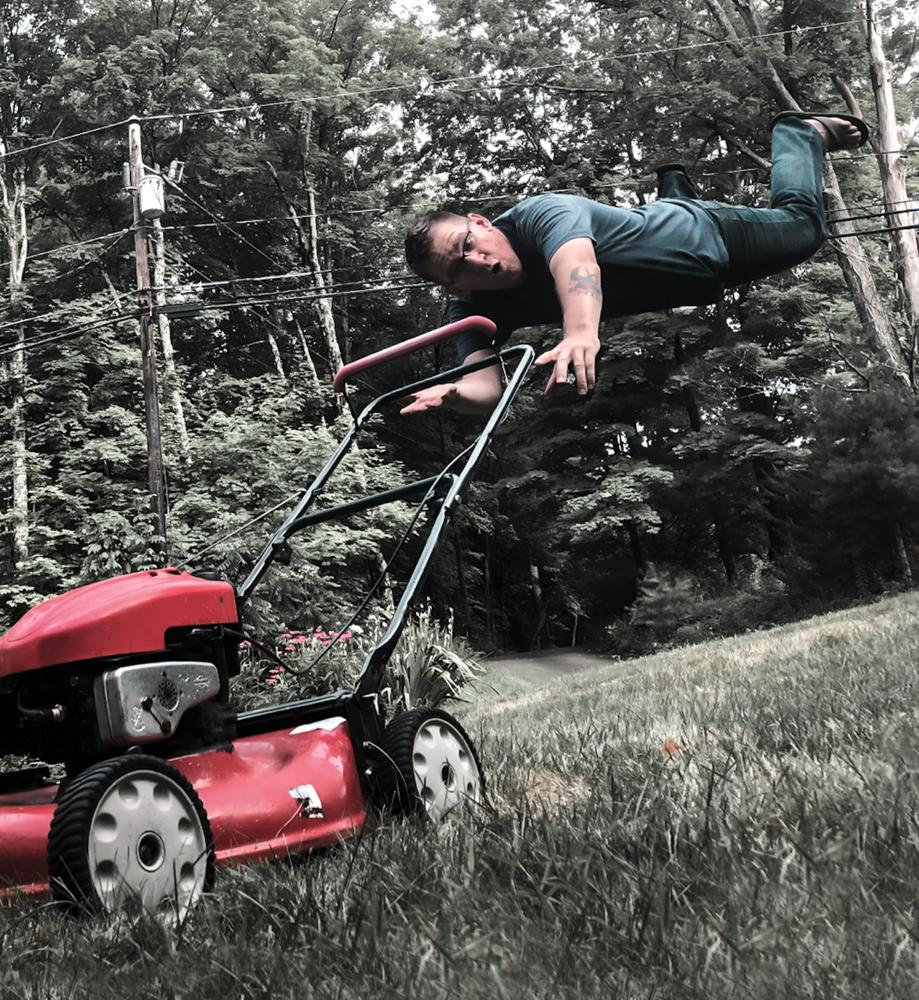 Runaway Mower by Zach Holmes