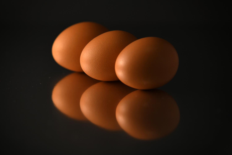 Three Eggs by Jimsimon Chia
