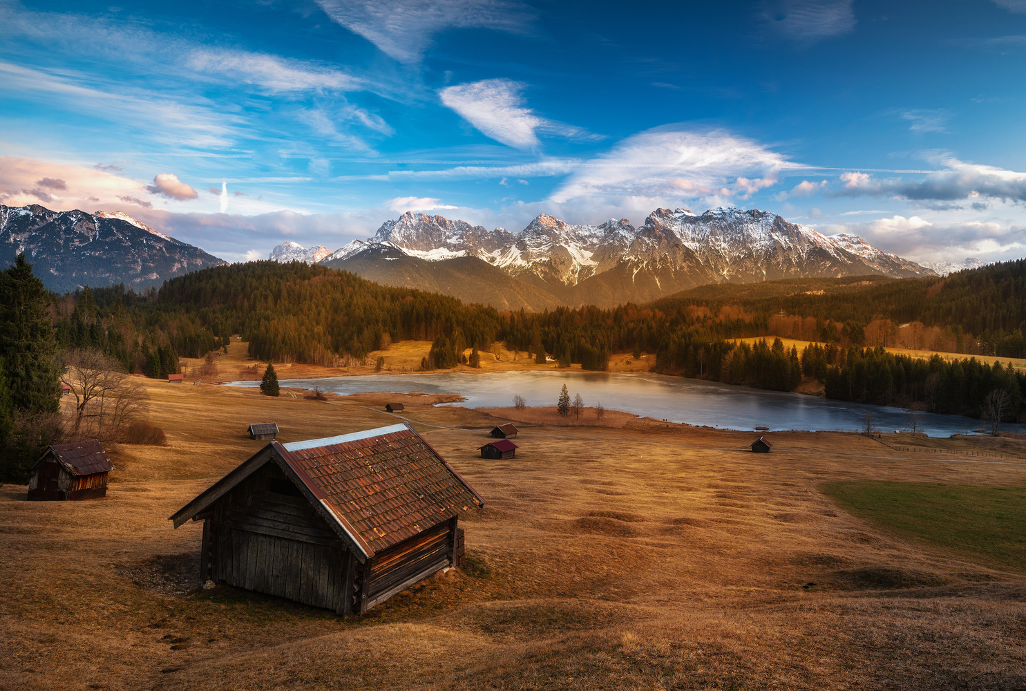 The Cabin in Rolling Hills by Michael Bottari