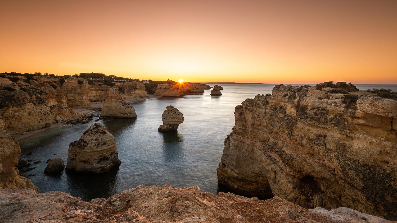 Praia de Marinha by Michael Bottari