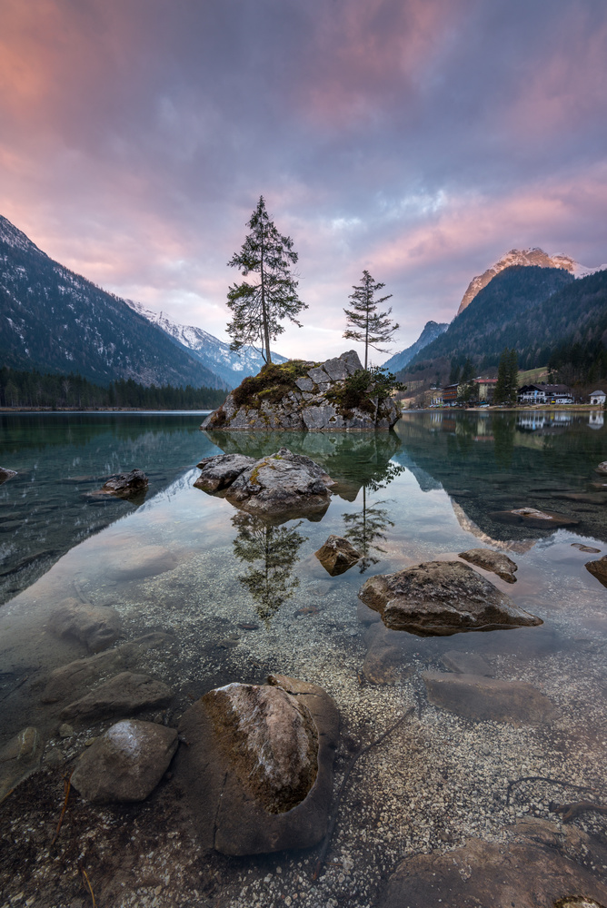 Twins and Stones by Michael Bottari