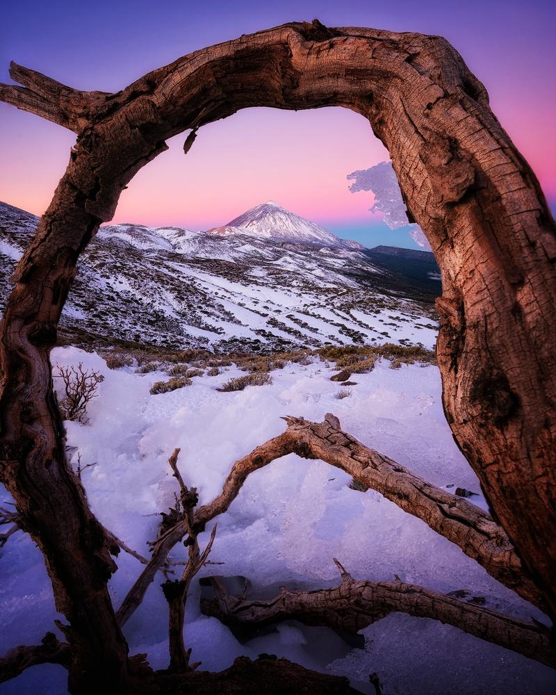 Winter postcard in Tenerife by Efren Yanes