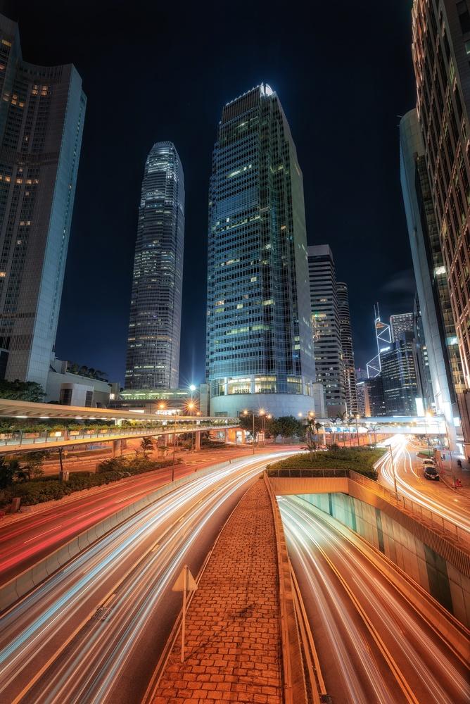 Hong Kong night lights by Efren Yanes