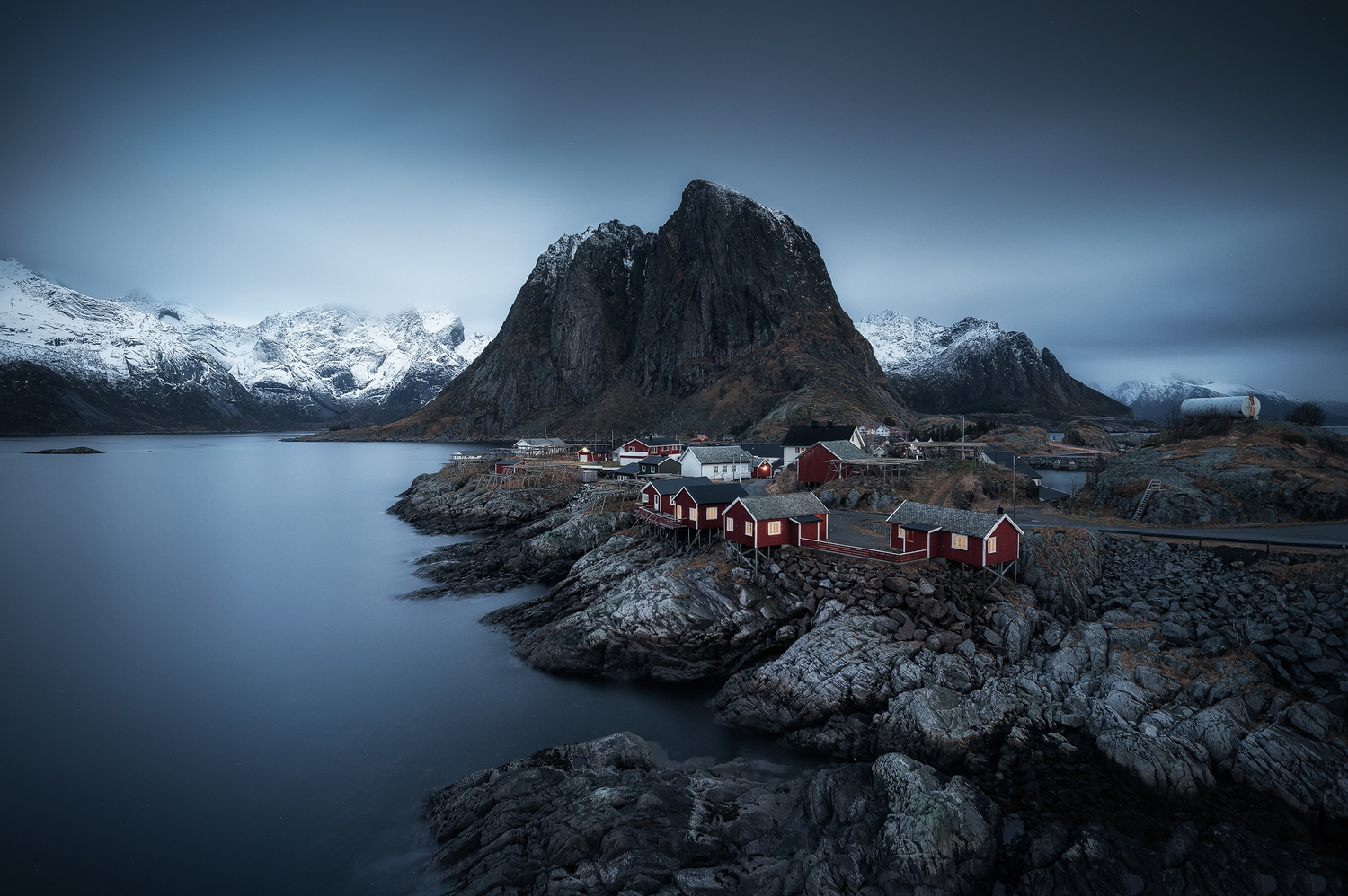 Dark Hamnoy by Efren Yanes