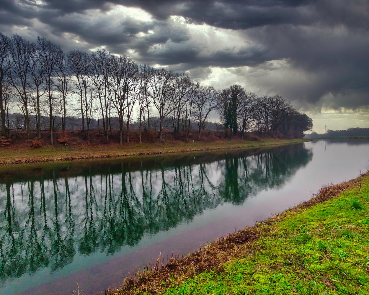 Canal in Osnabrueck by Sebastian Dannenberg