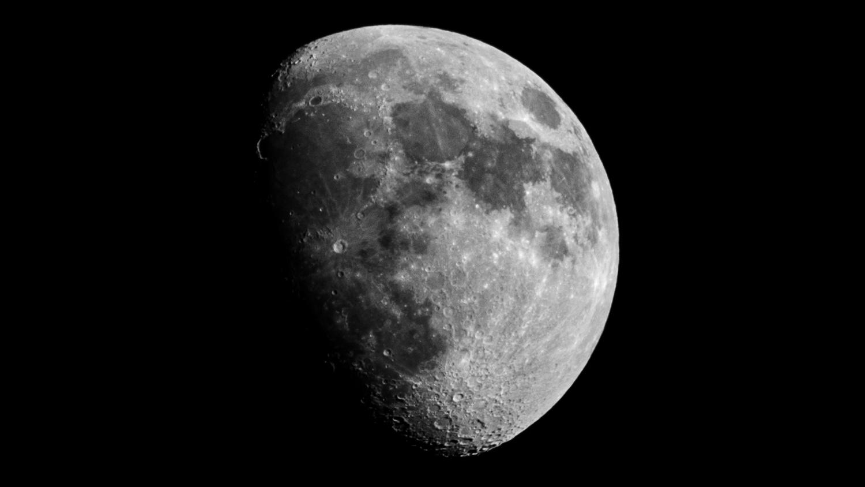 3/4 Moon by Sebastian Dannenberg