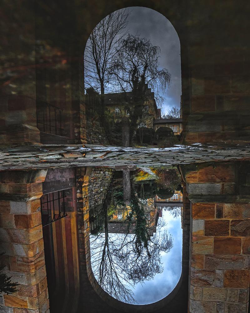 World upside down by Sebastian Dannenberg