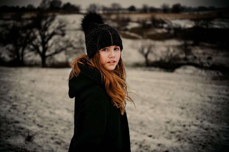 Girl In a Field by Heather Wilson