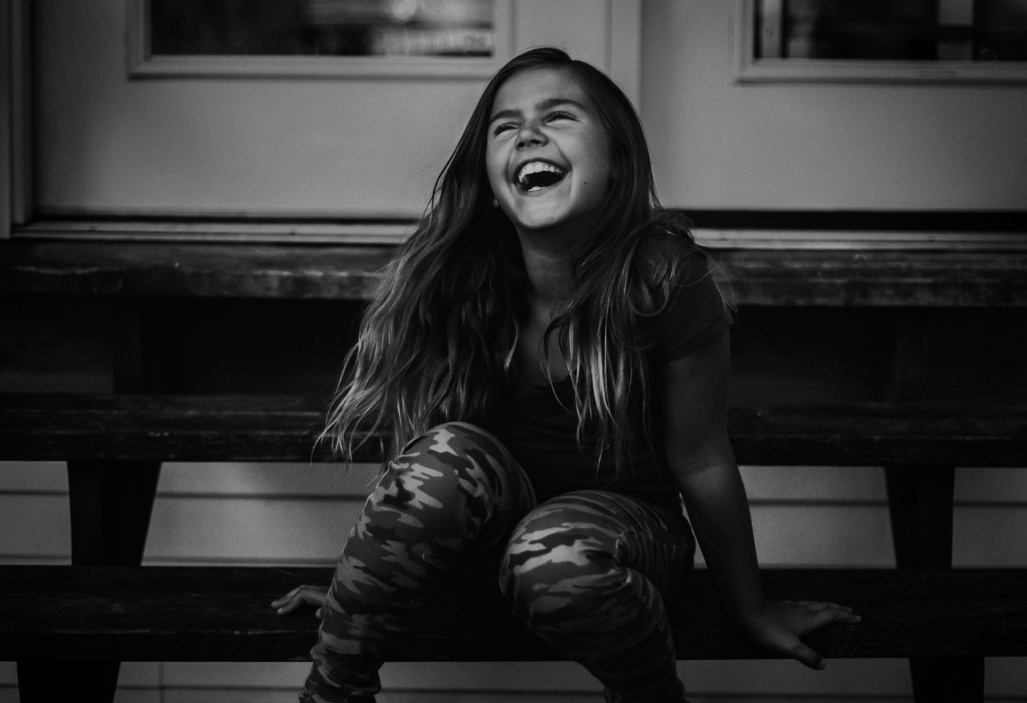 Laughing Girl by Heather Wilson