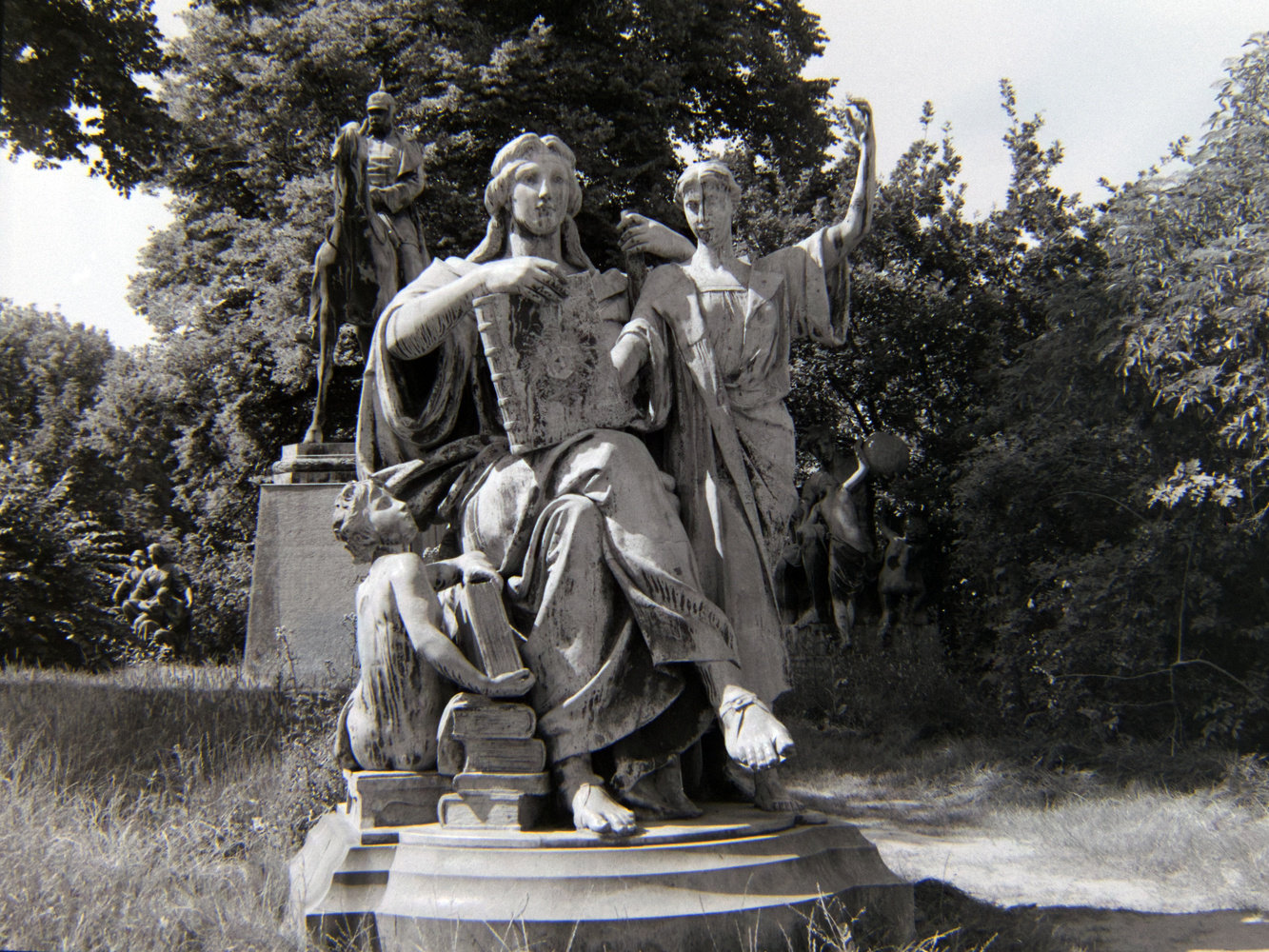 Baroque style statuary by William Watts
