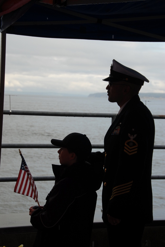The Navy Homecoming by Walton Ciferri