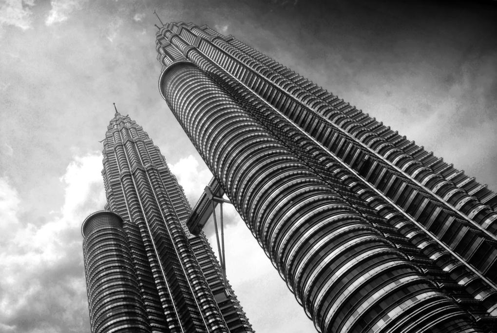 Petronas Tower Skyward by Walton Ciferri
