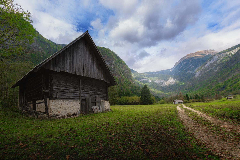 Slovenian farms by Eneko Guerra