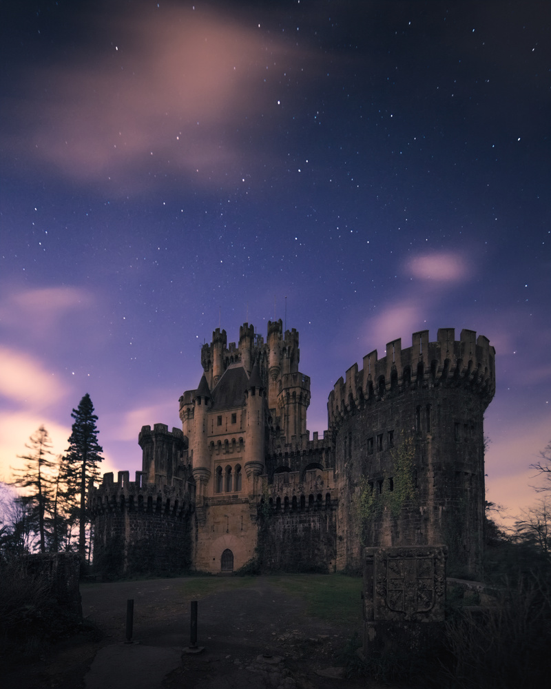 Night at Butron Castle by Eneko Guerra