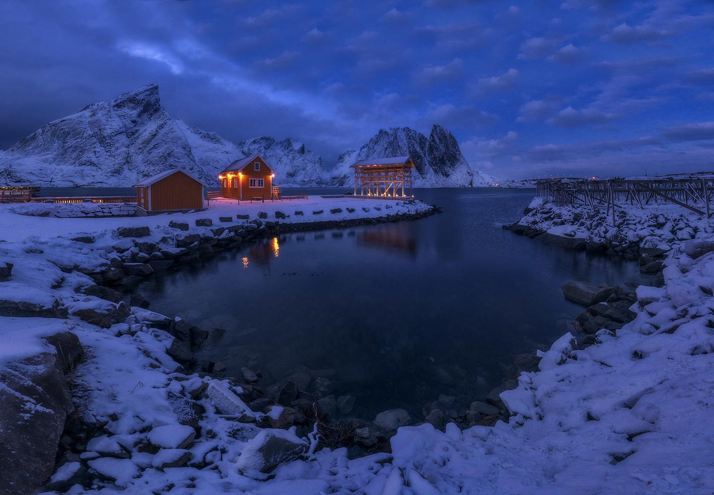 Sakrisøya by carlos gonzalez