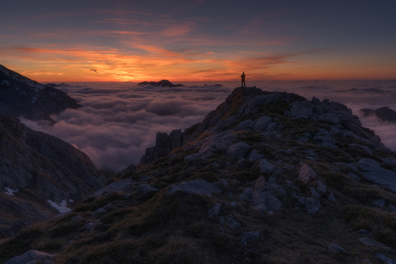 sunset by carlos gonzalez