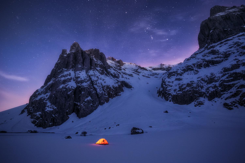 night and stars by carlos gonzalez
