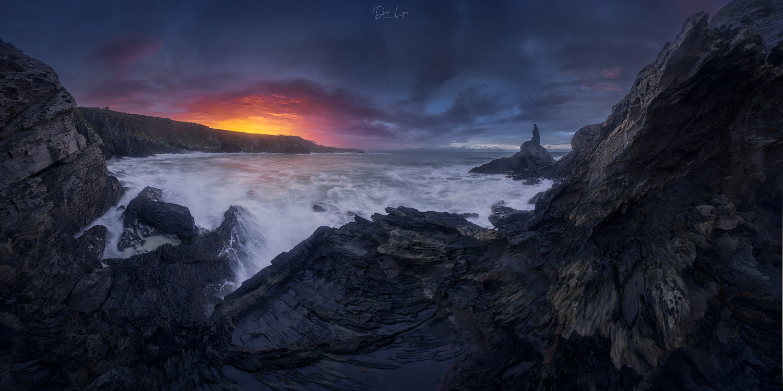 A really dramatic sunset by David López García