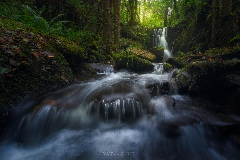 NAMELESS WATERFALL by David López García