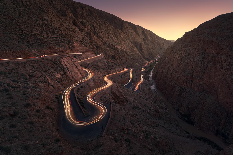 Road to Dades by Daniel Viñé