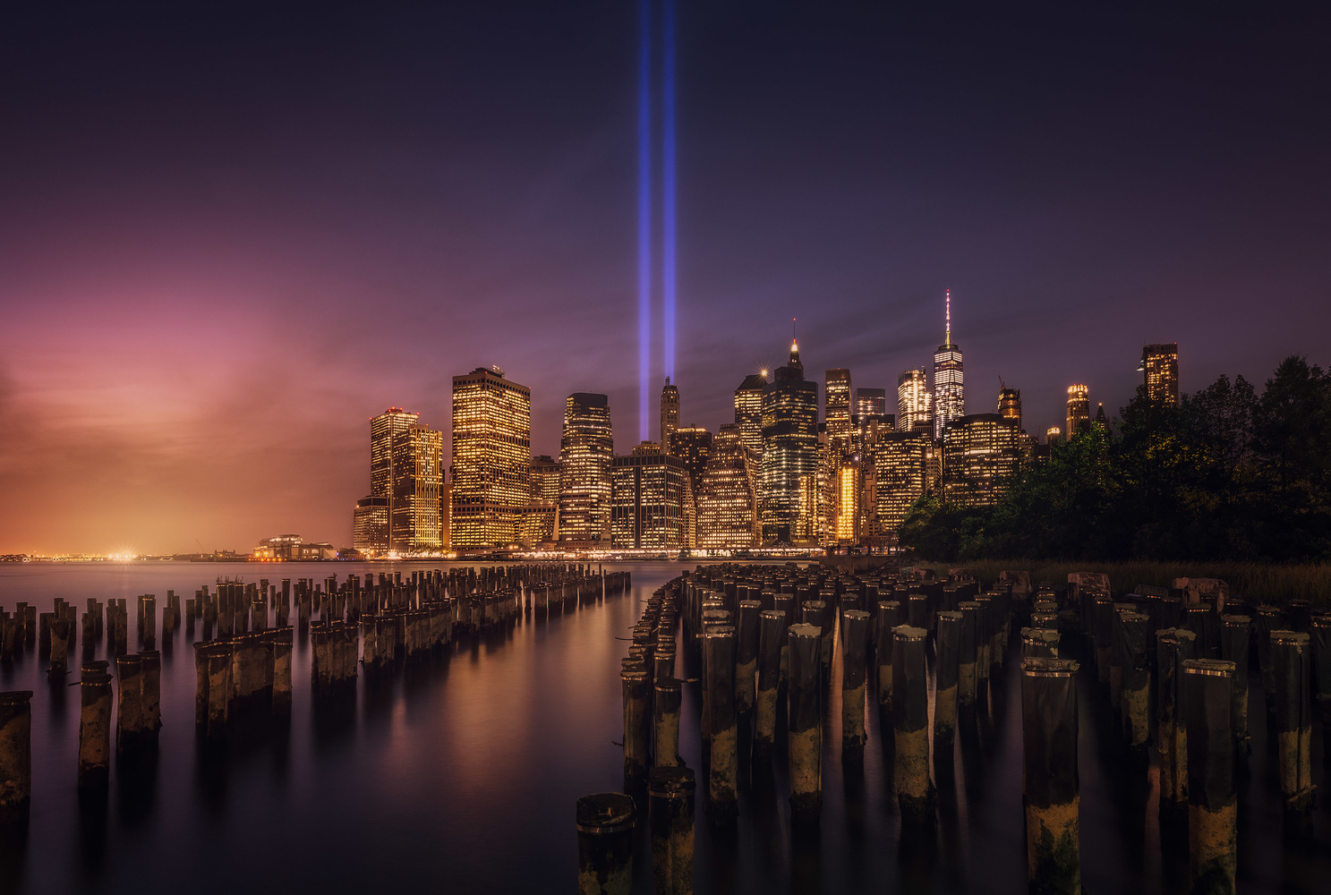 New York Tribute in Lights by Daniel Viñé