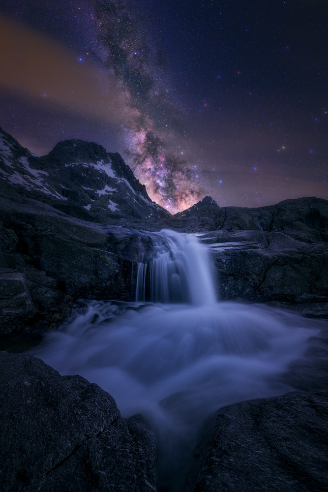 Magic Waterfall by Daniel Viñé