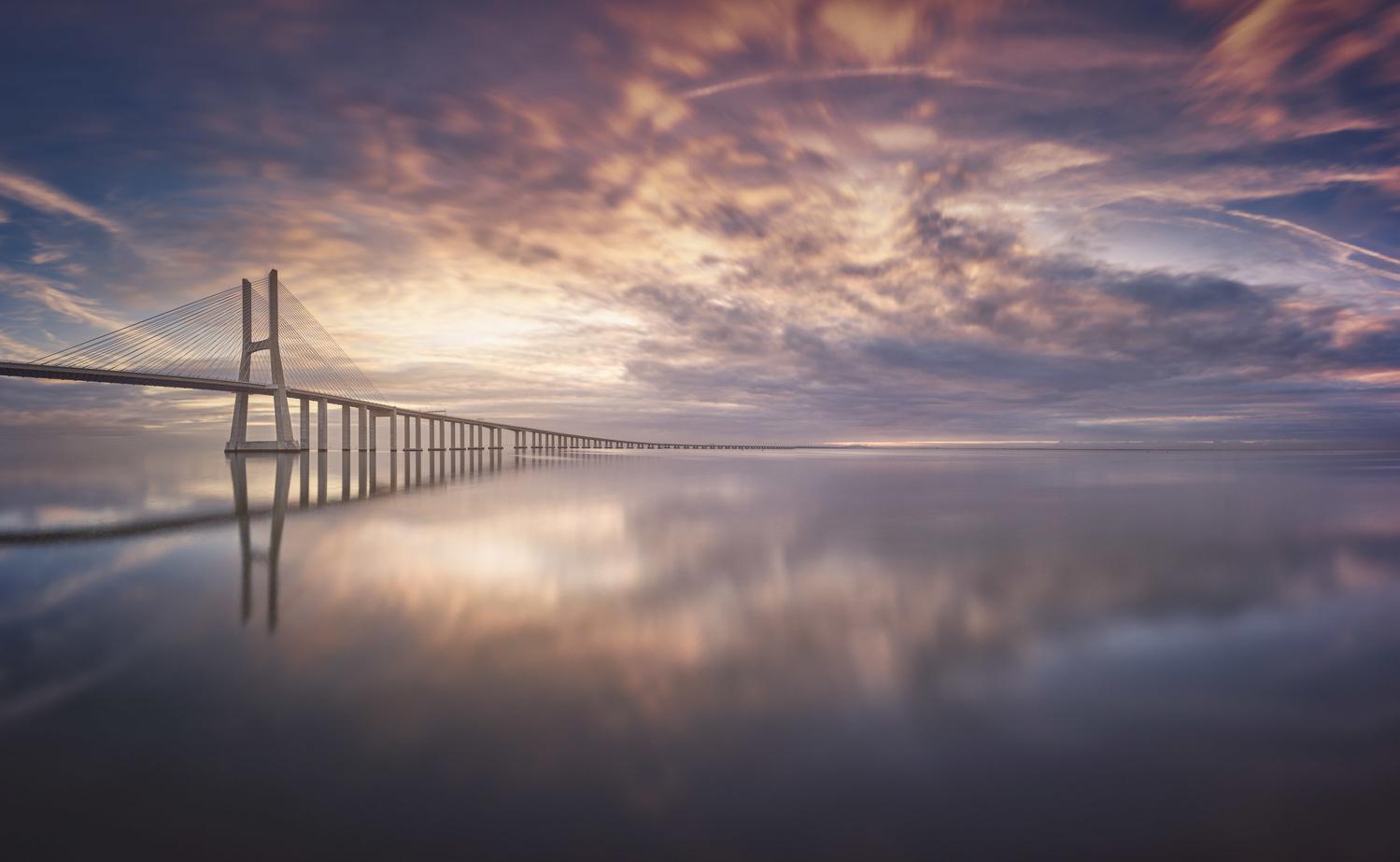 Bridgte to the infinity by Daniel Viñé