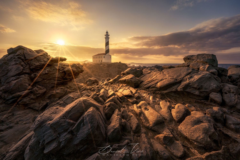 Golden Lighthouse by Daniel Viñé