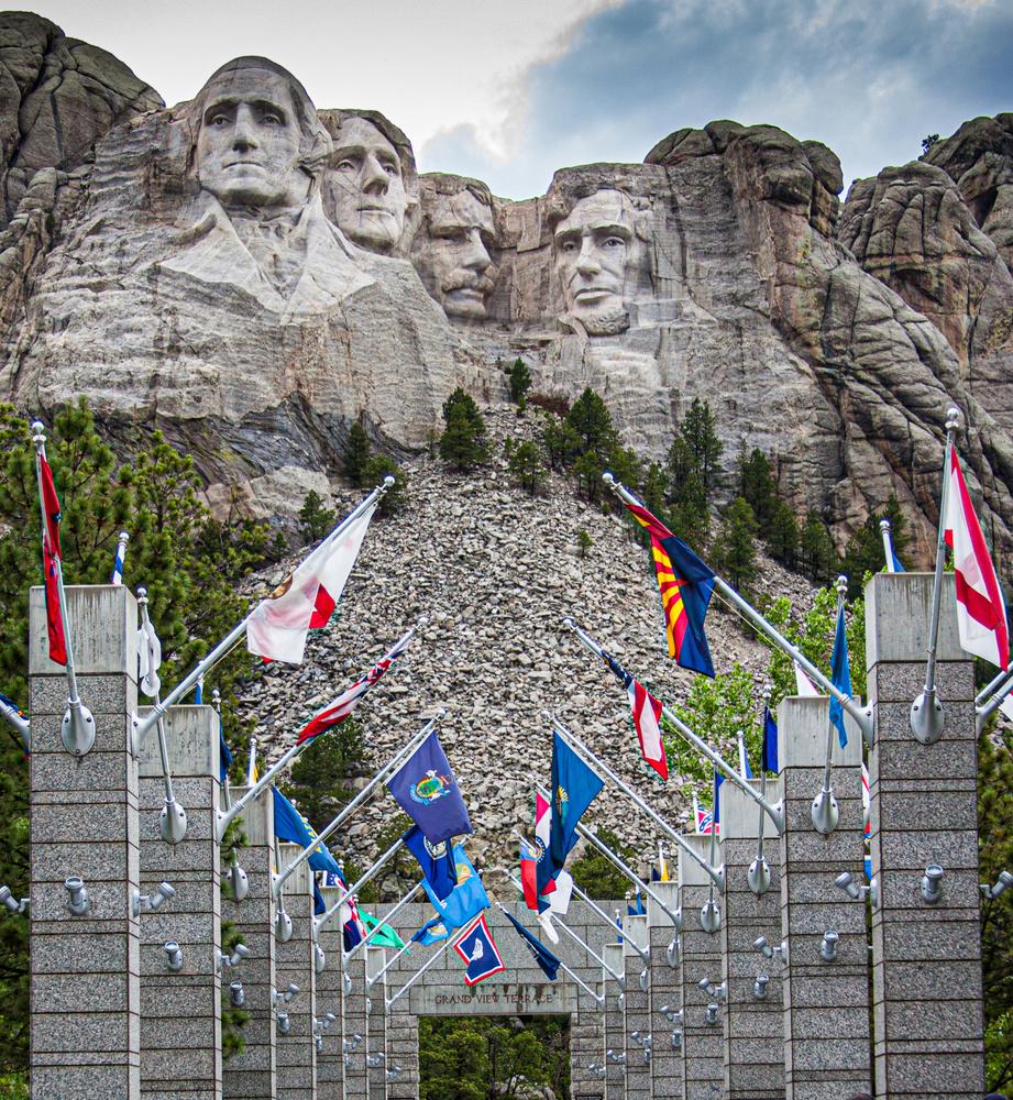 Mount Rushmore National Park USA by Tony Aretz