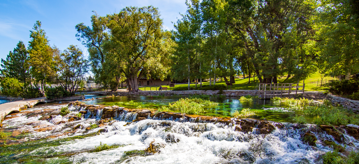 Giant Springs State Park in Great Falls Montana by Tony Aretz