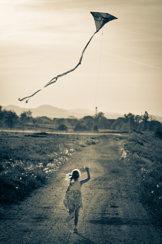 Carefree childhood by Stipica Vrbat