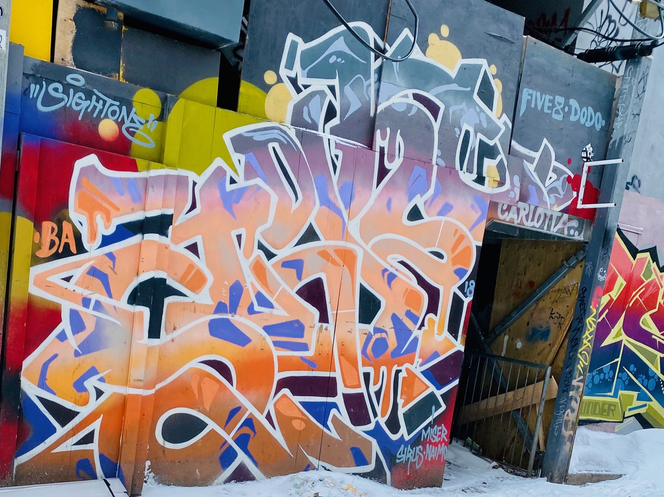 Toronto Street art by Micheal Bowers