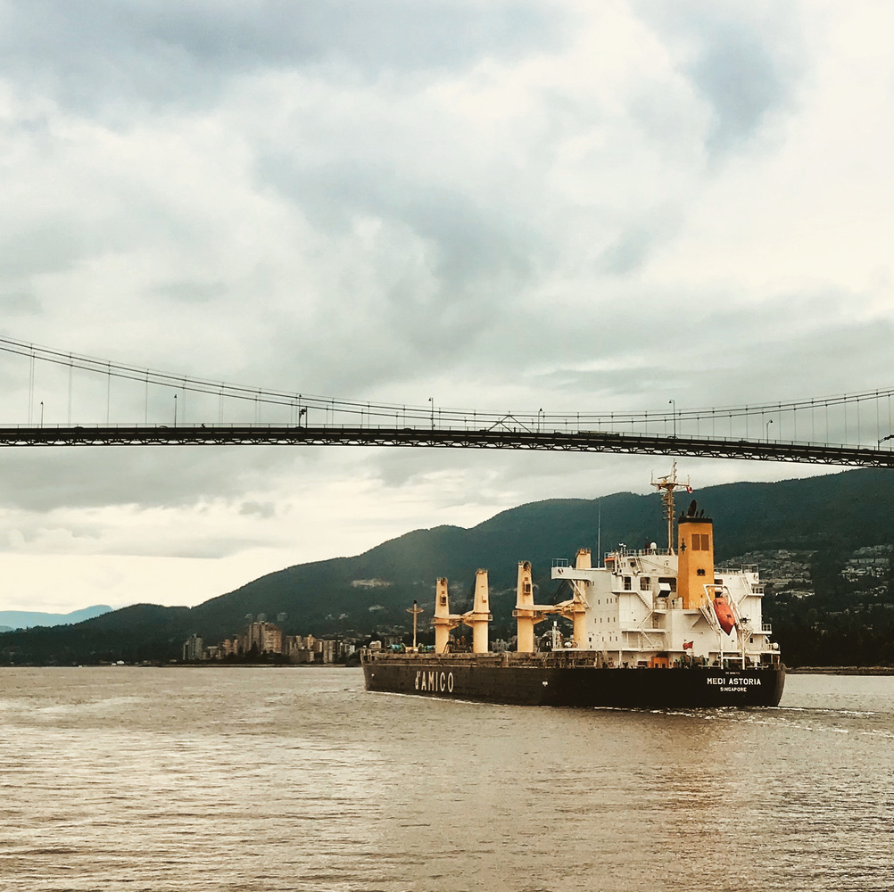 Vancouver harbour by Micheal Bowers
