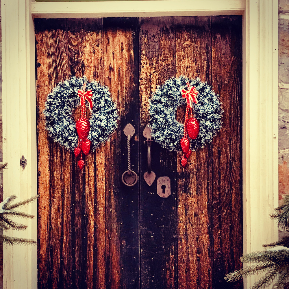 Holiday Doors by Micheal Bowers