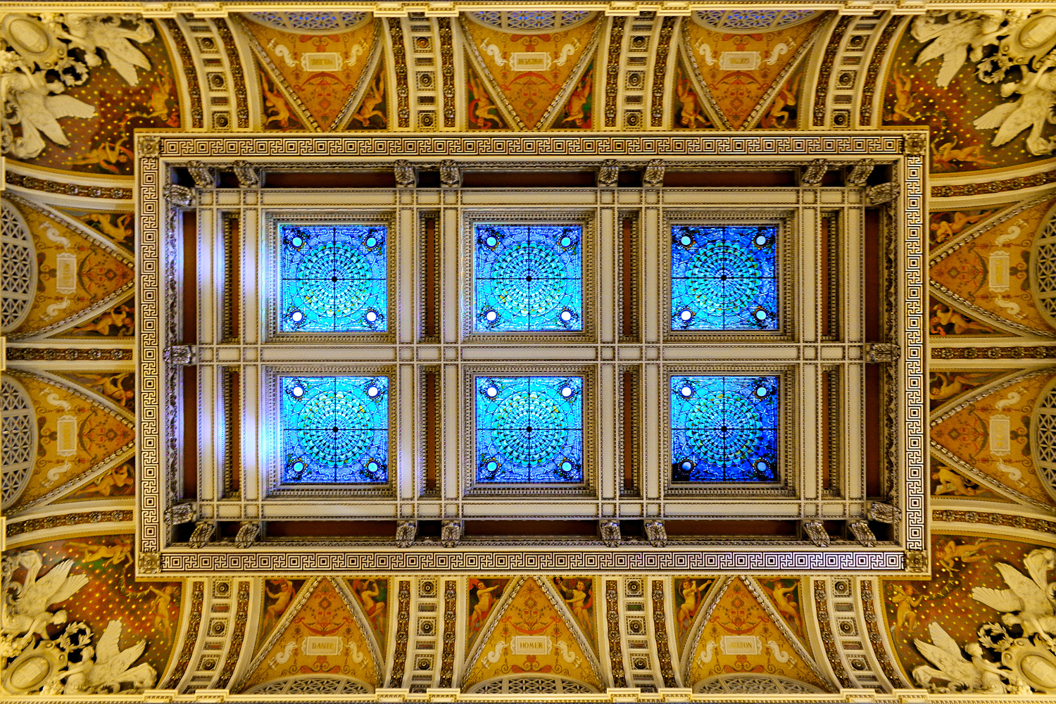 Skylight in the Library of Congress by Tong Thao