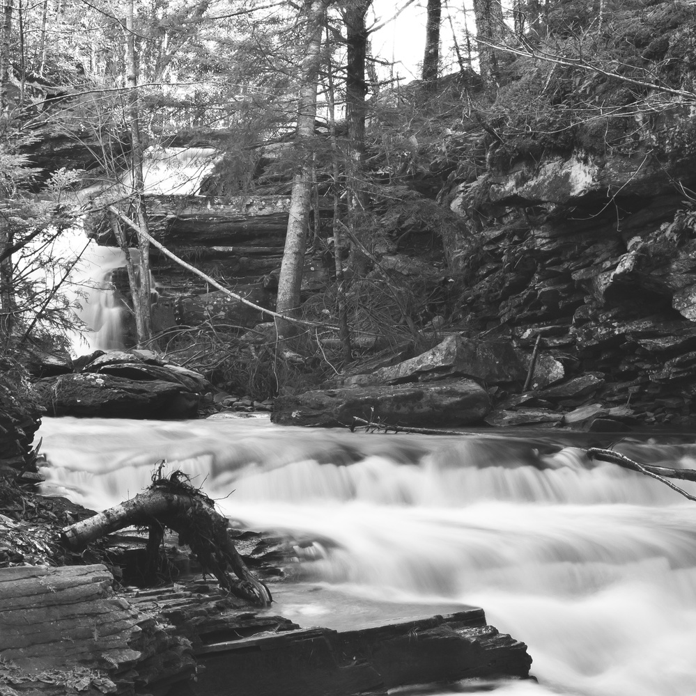 Below Garden Creek Falls Part 2 by James Jewers