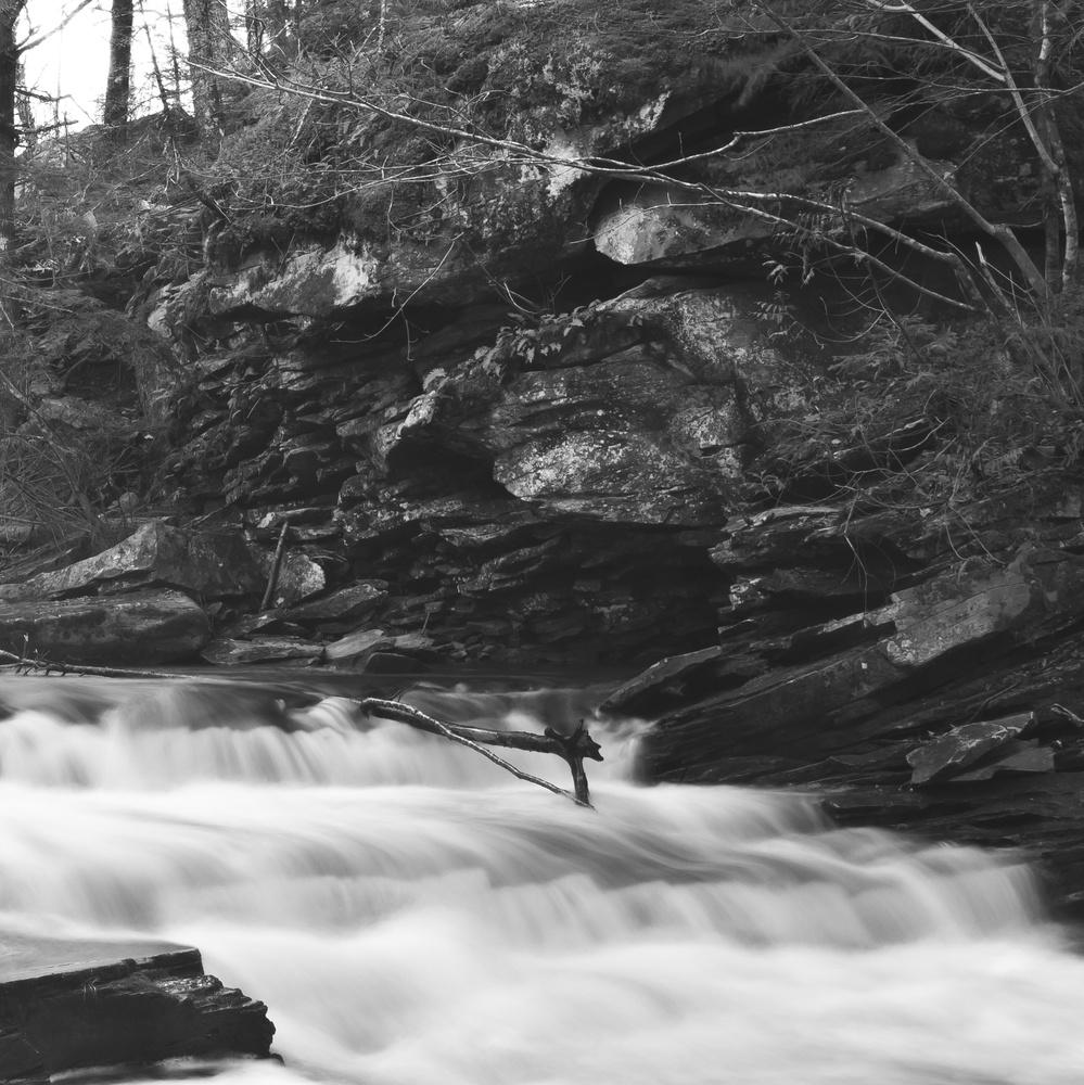 Below Garden Creek Falls Part 3 by James Jewers