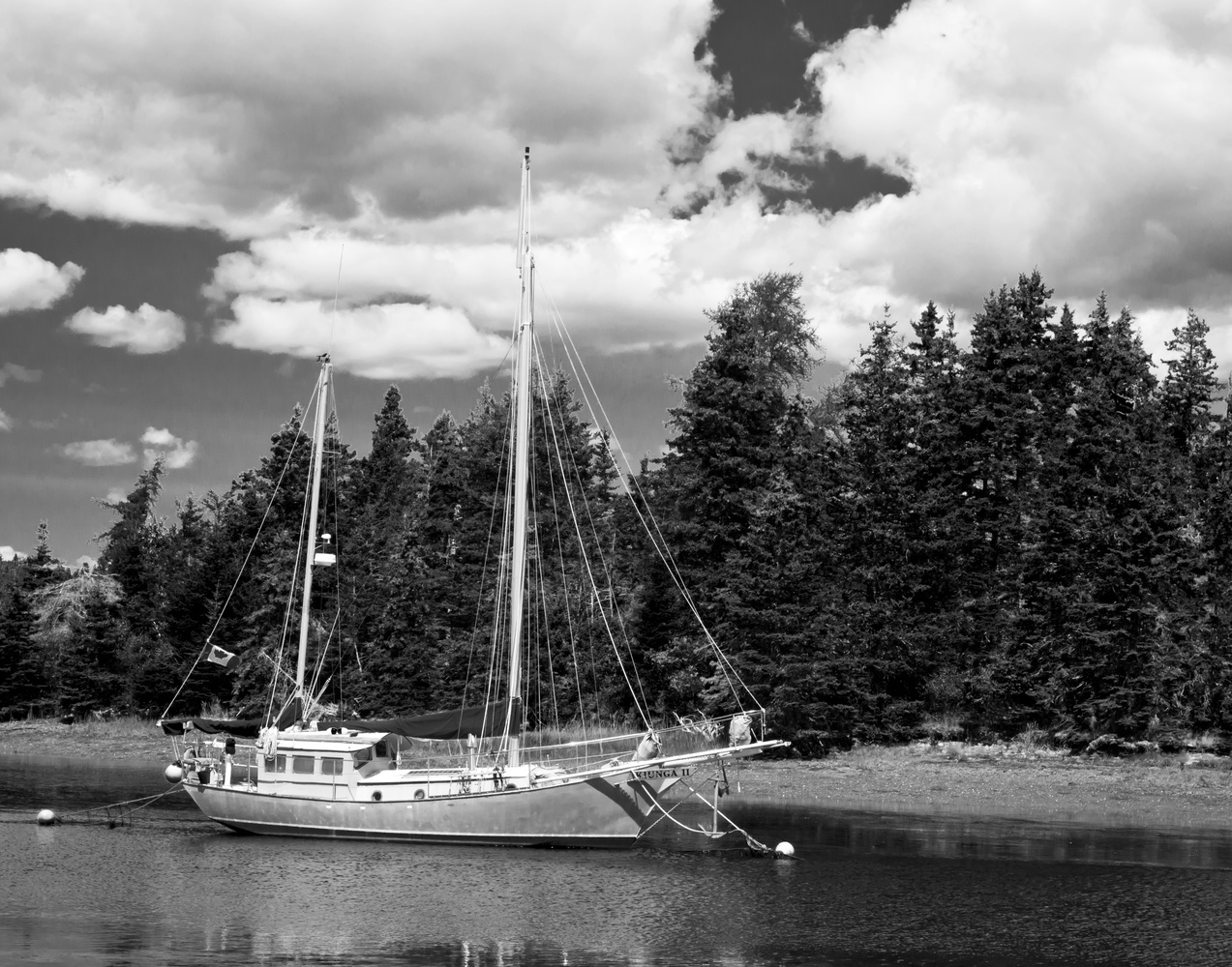 The Sail Boat by James Jewers