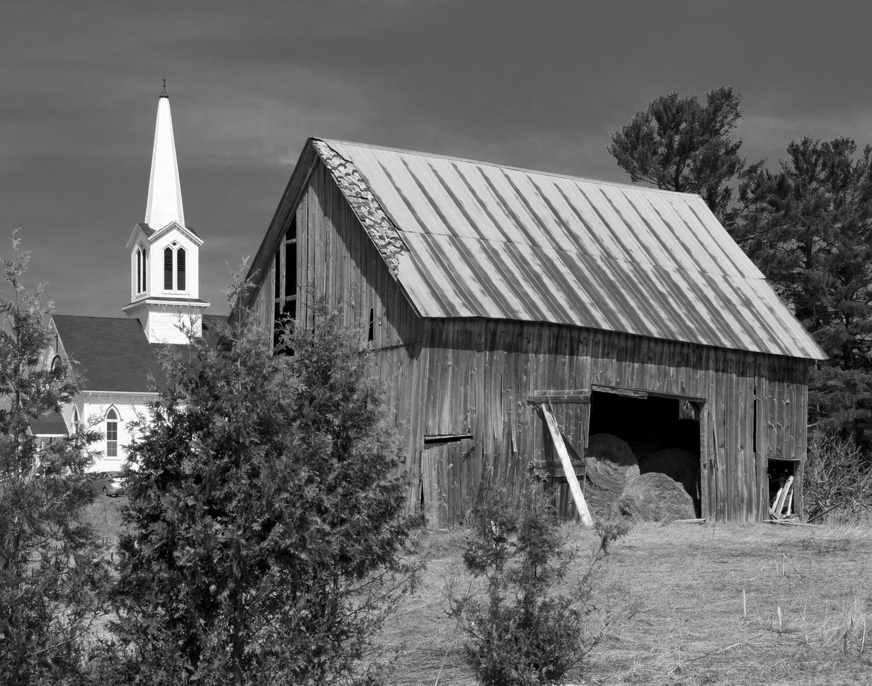 Keswick Ridge Barn by James Jewers