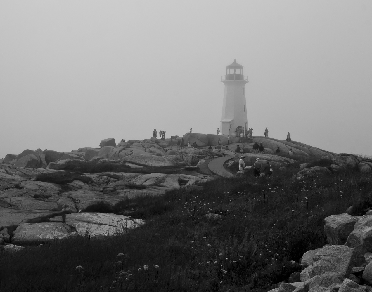 Peggy's Cove Lighthouse by James Jewers
