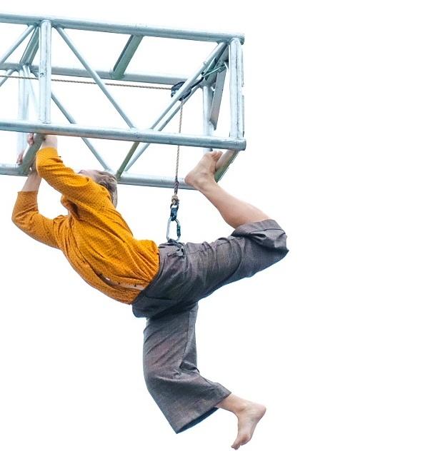 Just hanging  around by Tony Hetherington